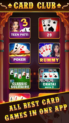 Card Club : Teen patti , CallBreak , Rummy , poker 2.14 screenshots 1