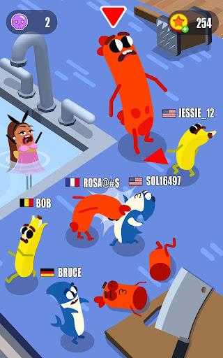 Sausage Wars.io 1.6.6 screenshots 1