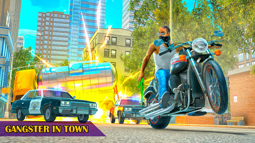 Télécharger Grand Crime City Mafia: Gangster Auto Theft Town APK MOD (Astuce) screenshots 1