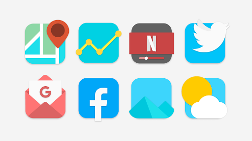 Download APK: Flat Evo – Icon Pack v5.0 [Patched]