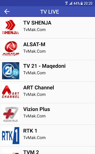 TvMAK.Com - SHQIP TV  screenshots 3