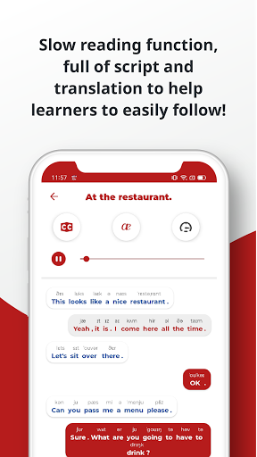 Learn English - Listening and Speaking modavailable screenshots 5