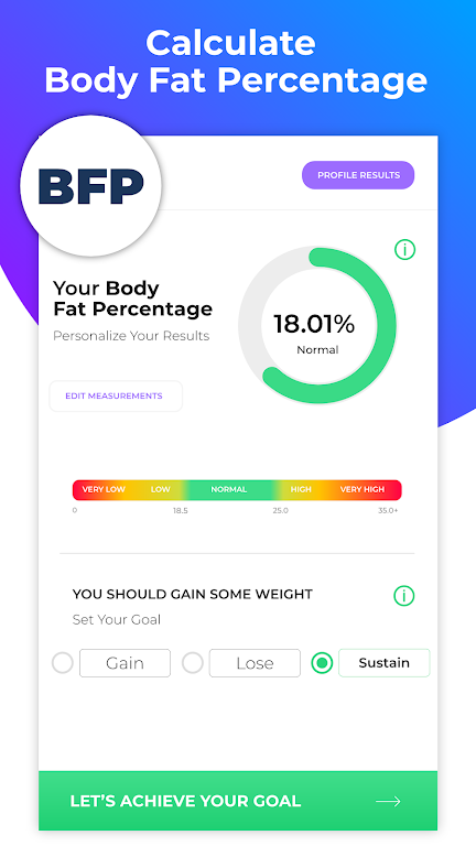 BMI Calculator: Body Fat Percentage & Ideal Weight  poster 3