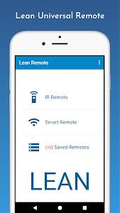 Universal Remote Control - Lean Remote 1.0.31
