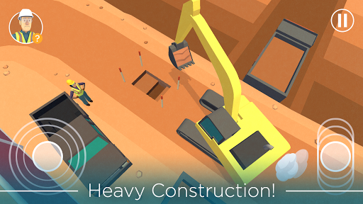 Dig In: An Excavator Game 1.6 screenshots 1