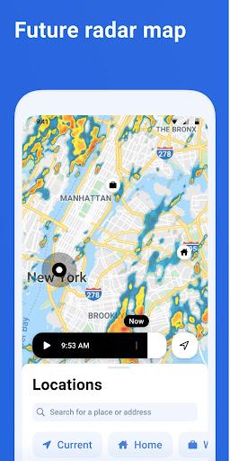 RainViewer: Weather forecast & storm tracker  Screenshots 3