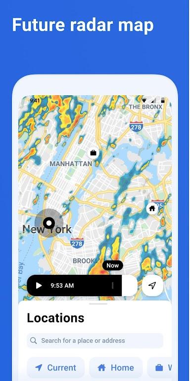 RainViewer: Doppler Radar & Weather Forecast  poster 2