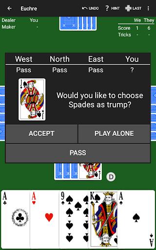 Euchre by NeuralPlay 2.70 screenshots 17