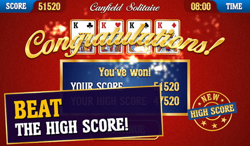 Canfield Solitaire 2.2.4 screenshots 12