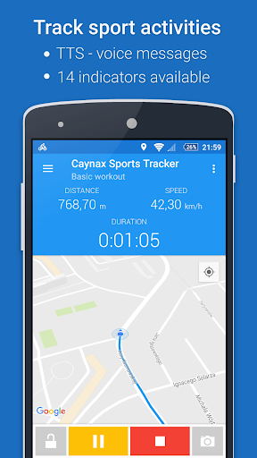 GPS Sports Tracker App: running, walking, cycling 2.9.3 Screenshots 1