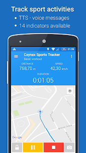 GPS Spor İzci – Koşu, Yürüme, Bisiklet sürmek Apk İndir 1