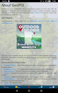 Border Route Trail - Offline Hiking Map with GPS! Screenshot