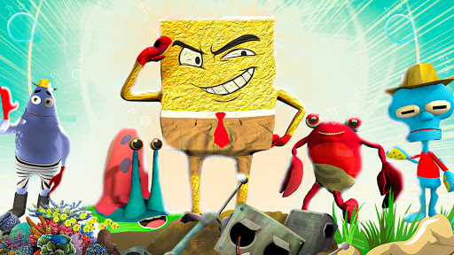 Sponge Family Neighbor Game 2021 screenshots 5