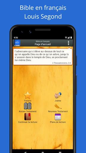 Bible en français Louis Segond  screenshots 1