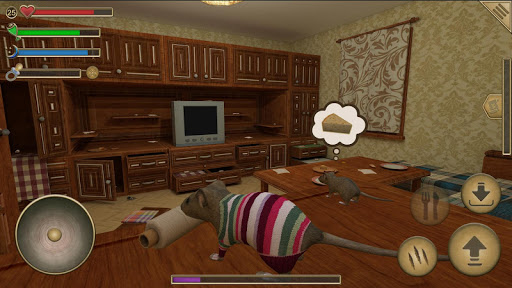 Mouse Simulator : rat rodent animal life  APK MOD (Astuce) screenshots 2