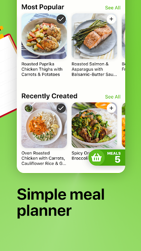 Mealime - Meal Planner, Recipes & Grocery List 4.8.2 Screenshots 4