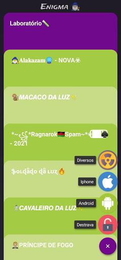 Enigma: criptografar mensagens android2mod screenshots 2