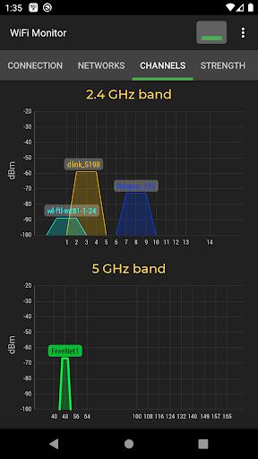 WiFi Monitor: analyzer of WiFi networks modavailable screenshots 2