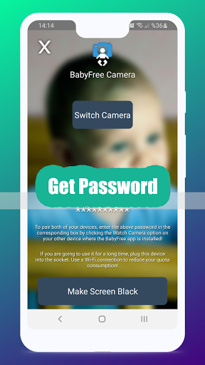 BabyFree - Baby Camera & Monitor 7.3 Screenshots 2