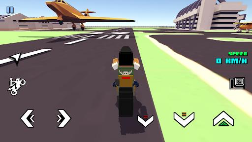 Blocky Moto Racing - motorcycle rider 1.30 screenshots 3