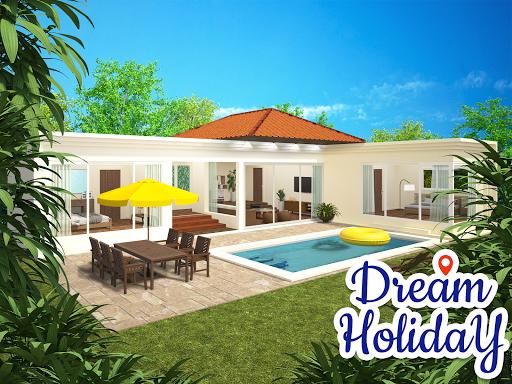 Dream Holiday - Travel home design game apkdebit screenshots 2