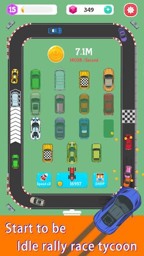 Merge Rally Car - idle racing game  screenshots 5