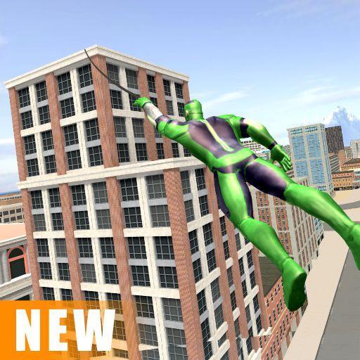 Miami Rope Hero Spider Open World Street Gangster 1.0.24 screenshots 1