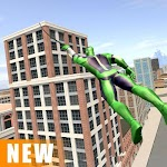 screenshot of Miami Rope Hero Spider Open World City Gangster