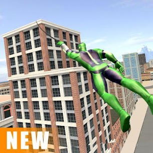 Miami Rope Hero Spider Open World City Gangster Apk Download 4