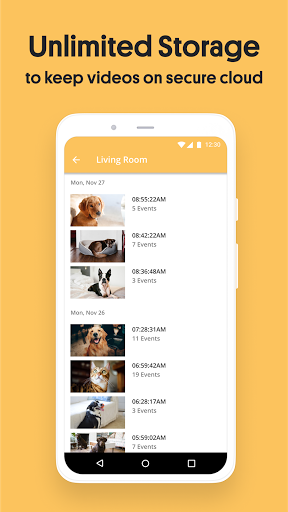 Alfred Home Security Camera: Baby Monitor & Webcam android2mod screenshots 5
