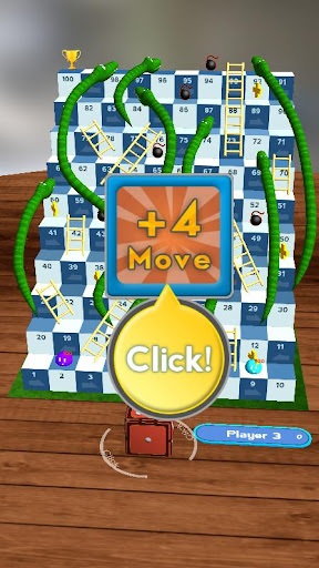 Snakes and Ladders, Slime - 3D Battle screenshots 4