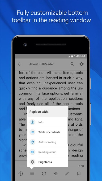 FullReader - all e-book formats reader  poster 2