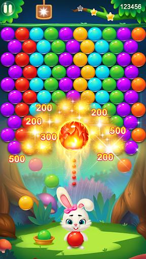 Rabbit Pop- Bubble Mania modiapk screenshots 1
