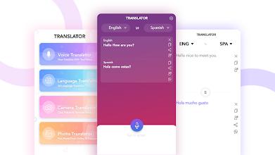 Translate All - Text, Voice & Camera Translator screenshot thumbnail