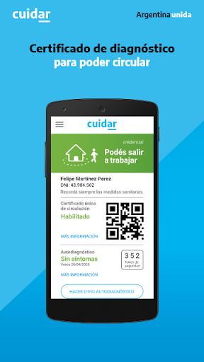 CUIDAR COVID-19 ARGENTINA 3.5.2 Screenshots 4