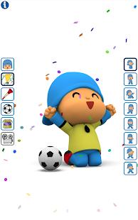Talking Pocoyo Football Free