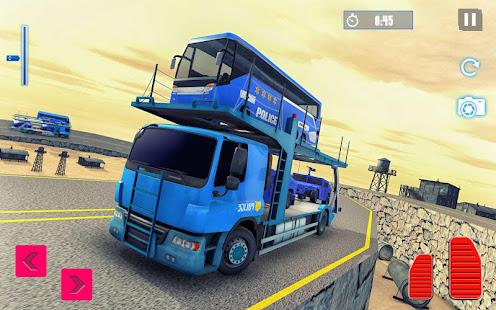 Police Plane Transport: Cruise Transport Games 1.12 Screenshots 3