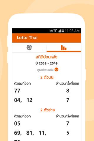 Lotto Thai (u0e15u0e23u0e27u0e08u0e1cu0e25u0e2au0e25u0e32u0e01) 2.3.4 Screenshots 4
