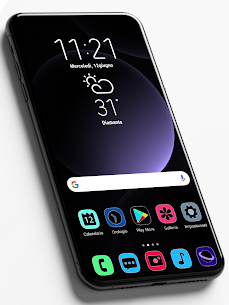 One UI Fluo Apk- Icon Pack 2.1.7 (Paid) 1
