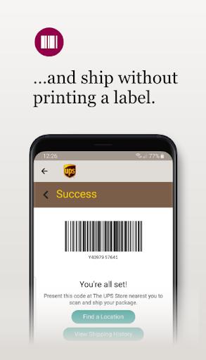 UPS Mobile 9.0.0.12 Screenshots 4