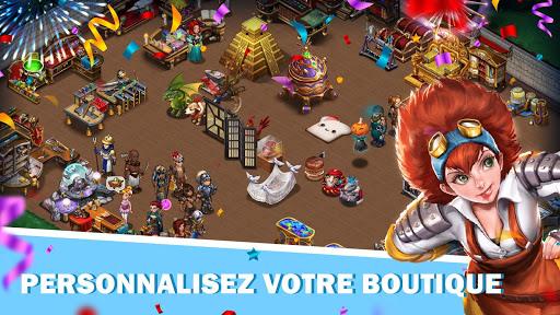 Télécharger Shop Heroes: Magnat des RPG apk mod screenshots 3