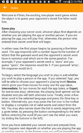 P3nto--The Five-Letter Word Game 2.299 screenshots 9