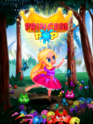 Bubble Shooter Princess Pop - Balloon & Ball Blast 5.3 screenshots 17