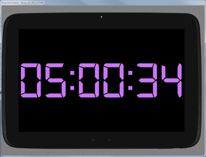 Simple Big Digital Clock with Metronome and Timer