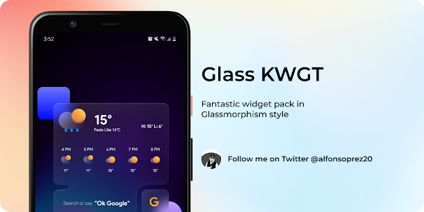 Glass for KWGT v1.0 [Paid] 2