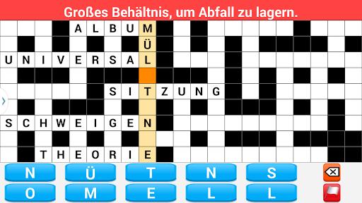 Kreuzwortru00e4tsel Deutsch screenshots 4