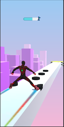 SuperHeroes Skates: Sky Roller apktram screenshots 6