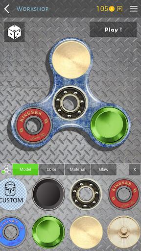 Fidget Spinner (30 models) + Workshop apkdebit screenshots 5