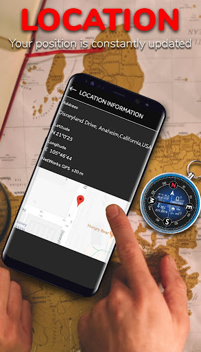 Smart Compass for Android - Compass App Free  Screenshots 4