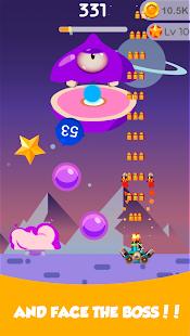 Bounce Ball Blast - Bosskampf